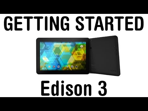 Getting started. Edison 3