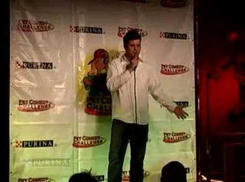 Pet Comedy Challenge finalist - JR Brow
