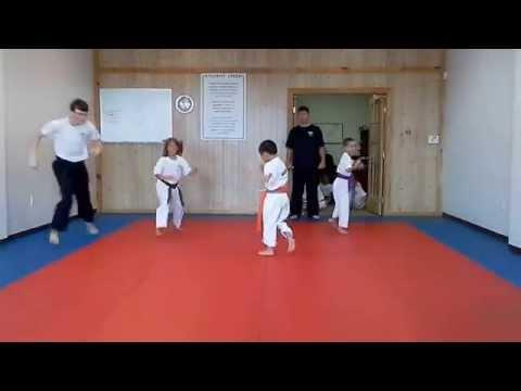 Hampton's Karate Academy - Running Drills 01