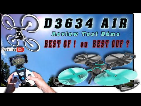 "D3634 AIR Ou QZ S8 Review Test Démo / UN TRUC DE "" OUF ""  !!!"