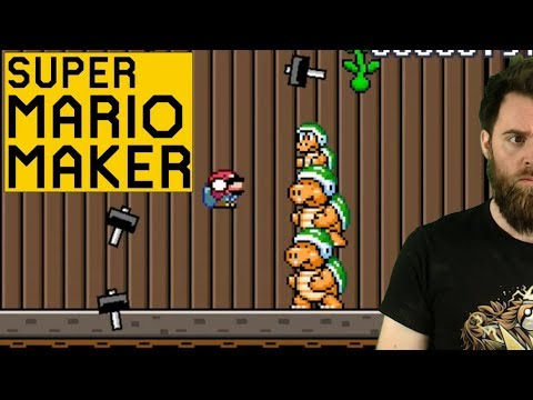 TAKING ZERO HITS LIKE A TOTAL BOSS [SUPER MARIO MAKER] except those other times (видео)