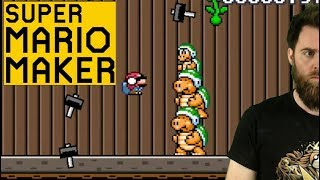 Video TAKING ZERO HITS LIKE A TOTAL BOSS [SUPER MARIO MAKER] except those other times MP3, 3GP, MP4, WEBM, AVI, FLV Agustus 2018
