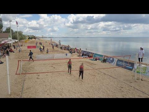 Фото новости - 20.05.2017 Крым, Феодосия — Открытие пляжного волейбола