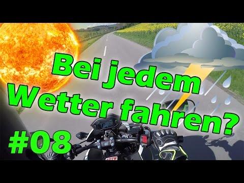 FAHREN BEI JEDEM WETTER?! - MotoVlog #08