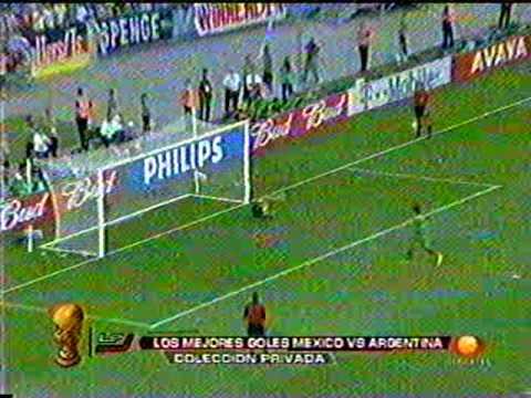 Gonzalo Pineda y su humillante gol de penal a la Argentina