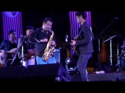 Retro Nouveau Koh Mr.Saxman & Pugun Mr.Saxboy - Chiangmai Jazz 2014