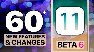iOS 11 Beta 6 Just Released, Over 60 New Features & Changes! Surprising Changes In Unexpected Places. Full Breakdown.Install iOS 11 Here: https://youtu.be/84bJH5FY2csTop 11 iOS 11 Features: https://youtu.be/ylzJ5bmNc8M