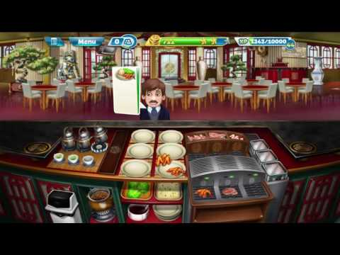 Cooking Fever: Chinese Restaurant Levels 22-24 (Purchase Cooking Machine)