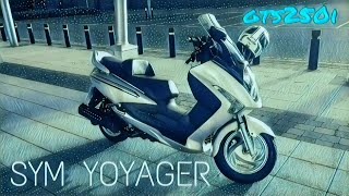 10. Sym Gts250i Voyager Maxi scooter review (SH300 killer!?)