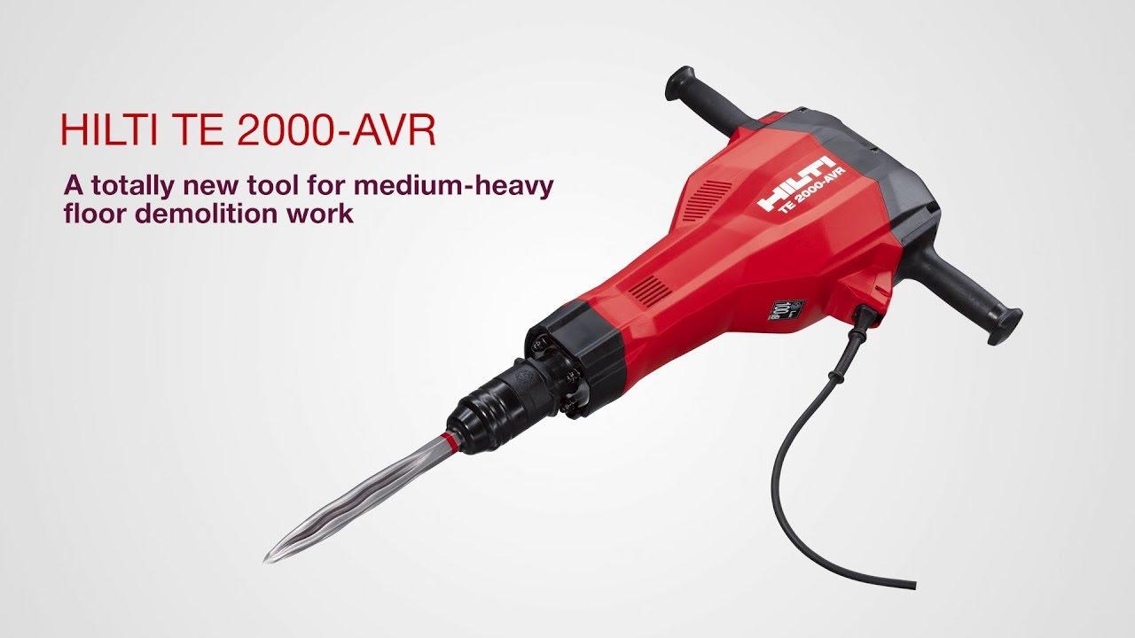Hilti TE 2000-AVR Demolition Hammer