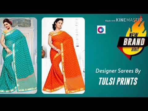 Video #TULSI PRINTS : SAREES FOR WOMEN (pls like,  share and subscribe) download in MP3, 3GP, MP4, WEBM, AVI, FLV January 2017