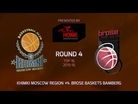 Highlights: Top 16, Round 4, Khimki Moscow Region 78-61 Brose Baskets Bamberg