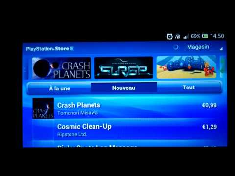 comment installer playstation mobile sur xperia z
