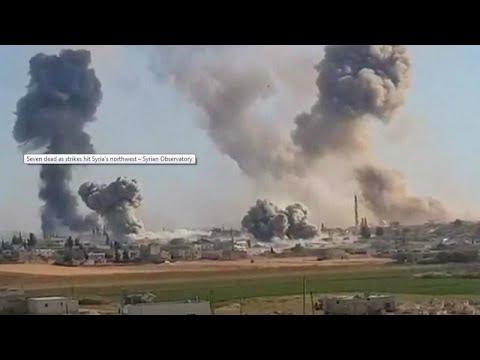 Συρία: Αεροπορική επιδρομή κατά τζιχαντιστών