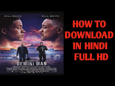How to download letest Hollywood movie ''Gemini Man''in hindi 720p 2019