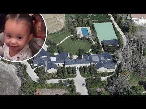 Kim Kardashian And Kanye West Host Chicago's 1st Birthday At Their Finally Finished Calabasas Estate