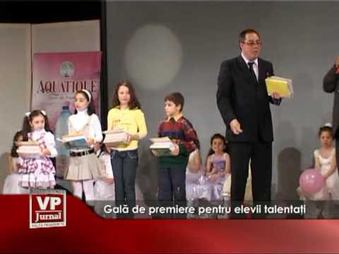 Gală de premiere pentru elevii talentaţi