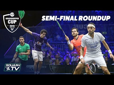 Squash: Grasshopper Cup 2019 - Semi-Final Roundup