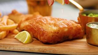 The British Are Cooking! An Easy and Authentic Fish & Chips Recipe   Tastemade by Tastemade