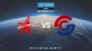 HOLLYWOOD vs. Syman - IEM Katowice 2019 Closed Minor CIS QA - map2 - de_overpass [Anishared]