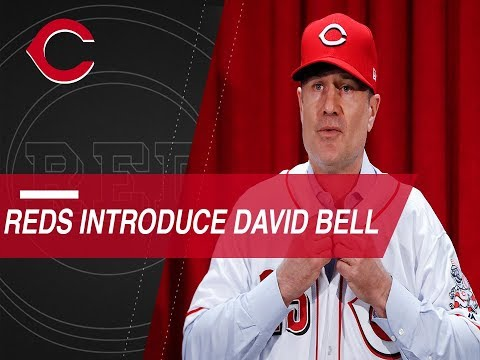 Video: Reds introduce David Bell as new manager