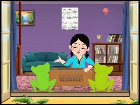 Antara Chowdhury   Salil Chowdhury   O Sona Byang   Animation Video