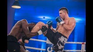 28 Sekunden KNOCKOUT! - Michael Smolik vs. Kaz Mwamba   LIVER SHOT
