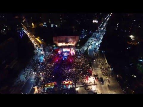 Summer Fest Durres 2015 Aerial Video - DronAlb