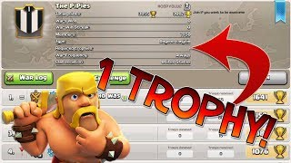 THIS CLAN LITERALLY REQUIRES 1 TROPHY TO JOIN! ONE OF THE STRANGEST, WEIRDEST AND FUNNY GLITCHES IN CLASH OF CLANS I'VE SEEN IN A WHILE! WHO ELSE HAS SEEN THIS? LMAOYouTube: https://youtube.com/c/LewisThePenTwitter: https://twitter.com/LewisThePenInstagram: https://www.instagram.com/lewisthepen/Twitch: https://www.twitch.tv/lewisthepenyt-------------------------------------------MUSIC USED - 1. OMFG - HELLO [https://www.youtube.com/watch?v=ih2xubMaZWI]-------------------------------------------Clash of Clans is an addictive multi-player game which consists of fast paced action combat. Build and lead your personalised armies through enemy bases taking gold, elixir and trophy's to master the game and become a legend. Up-rise through the realms and join a clan to reign supreme above all others.Category: GamesUpdated: 10 June 2014Version: 6.108.5Size: 53.3 MBLanguages: English, Japanese, Korean, Simplified Chinese, Traditional ChineseDeveloper: Supercell Oy© 2012 SupercellRated 9+ for the following:Infrequent/Mild Cartoon or Fantasy ViolenceCompatibility: Requires iOS 4.3 or later. Compatible with iPhone, iPad, and iPod touch. This app is optimized for iPhone 5.