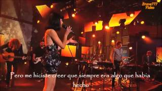 Somebody i used to know/Gotye Live performance/subtitulos español