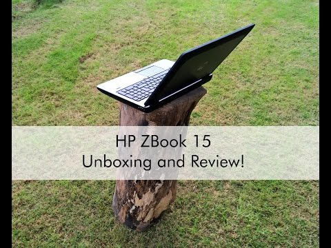 HP ZBook 15 G2 Mobile Workstation Unboxing And Review