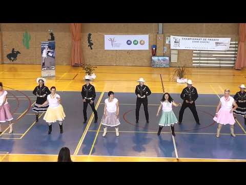 "Championnat de France Country et Line Dance 2013 TEAM SHOW  ""Country Soleil"""