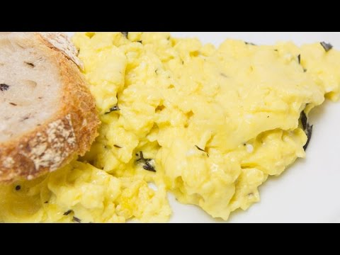 The Trick For Heavenly Scrambled Eggs