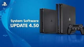 4.50 System Software Update Video Highlights
