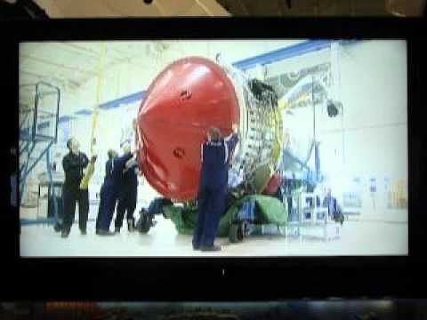 Boeing gallery – engine making process