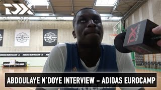 Abdoulaye N'doye Interview - Adidas Eurocamp