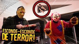 Video ESCONDE-ESCONDE COM DISFARCE DE TERROR!! ( REALISTA ) [ REZENDE EVIL ] MP3, 3GP, MP4, WEBM, AVI, FLV Agustus 2018