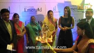 Hansika Motwani Launches The Hallmark Emerald