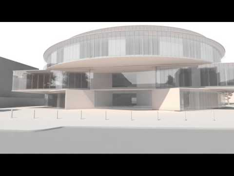Radcliffe Observatory - An animation of a walk down Walton Street.