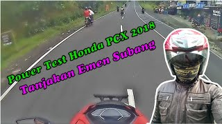 Video Honda PCX 2018 ,  Power Test tanjakan emen subang. MP3, 3GP, MP4, WEBM, AVI, FLV Mei 2018
