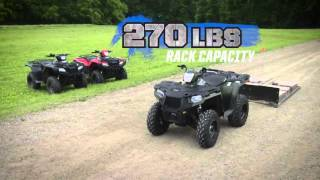 4. Polaris Sportsman 570 2016 / Моторрад