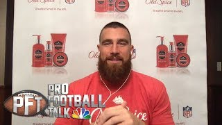 Travis Kelce on Patrick Mahomes and the Chiefs' explosive offense I Pro Football Talk I NBC Sports