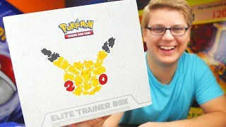 Opening A 20th Anniversay Elite Trainer Box - Pokemon TCG Unboxing ▻ How to send me stuff! → http://bit.ly/how2sendmestuff...