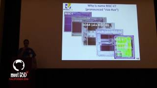Krste Asanovic - RISC-V: Instruction Sets Want To Be Free, MeetBSD 2016