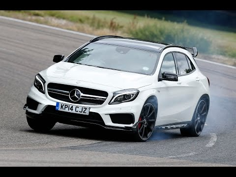 Mercedes - Subscribe to the channel now: http://smarturl.it/autocar Steve Sutcliffe drives the Mercedes-Benz GLA45 AMG. With 355bhp from its 2.0-litre, four-cylinder turbocharged petrol engine it's certainly...