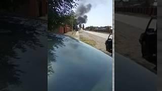 Nagranie z ogromnego wybuchu gazu na stacji benzynowej