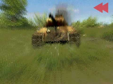 Men of War - World War Two real time video game - lesson 2 - PC
