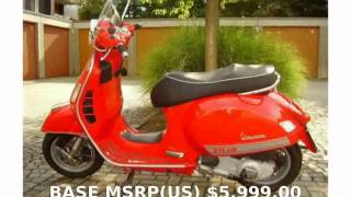 7. 2011 Vespa GTS 300 Review, Specs