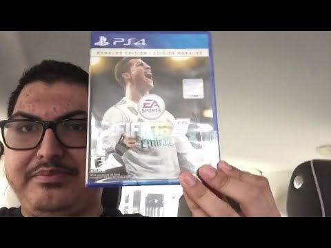 Picking Up FIFA 18 At GameStop/FIFA 18 Ronaldo Edition Unboxing!