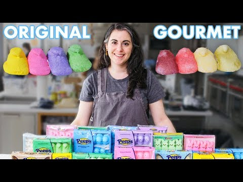 Pastry Chef Attempts to Make Gourmet Peeps